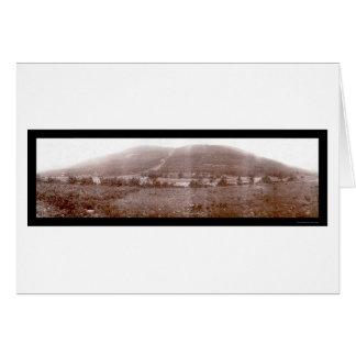 Catskill Mtnの家の写真1897年 カード