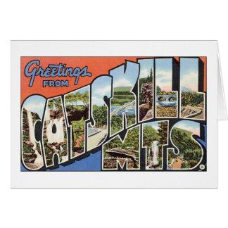 Catskill Mtsからの挨拶 カード