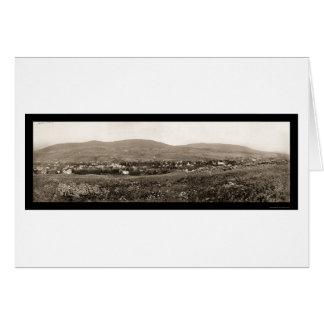Catskill MtsのハンターNYの写真1898年 カード