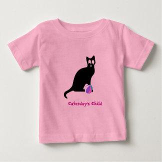 Caturdayの子供 ベビーTシャツ