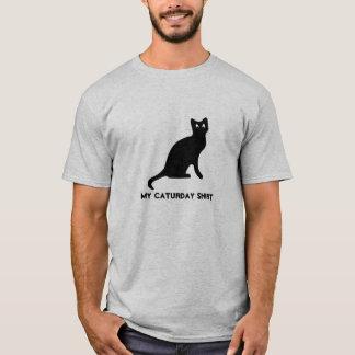 Caturday Tシャツ