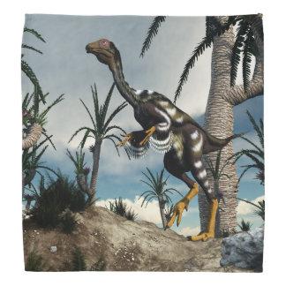 Caudipteryxの恐竜- 3Dは描写します バンダナ