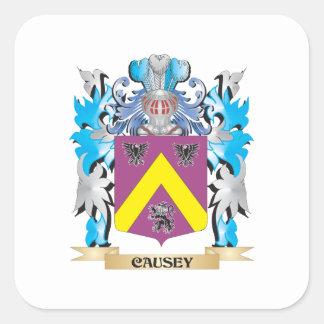 Causeyの紋章付き外衣-家紋 スクエアシール