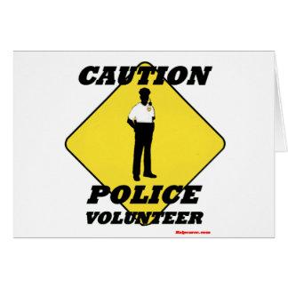 Caution_Police_Volunteer カード