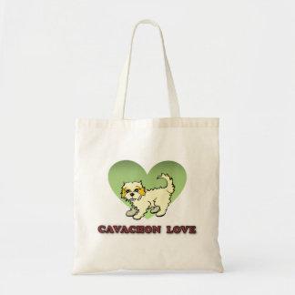 Cavachonの再使用可能なトートバック トートバッグ
