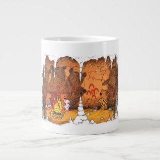 Cavebearsのジャンボマグ ジャンボコーヒーマグカップ
