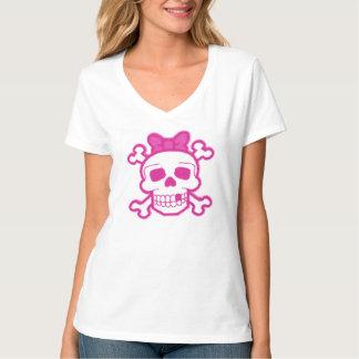 Caveiraの女の子 Tシャツ