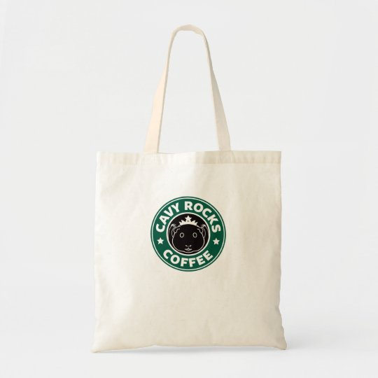 Cavy Rocks Coffee Basic Bag トートバッグ