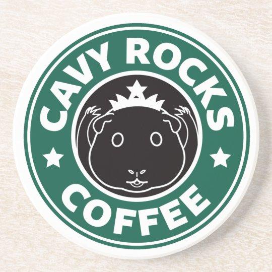 Cavy Rocks Coffee Coasters コースター