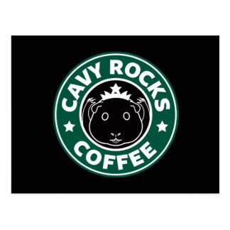 Cavy Rocks Coffee Postcard ポストカード