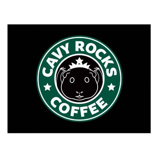 Cavy Rocks Coffee Postcard ポストカード