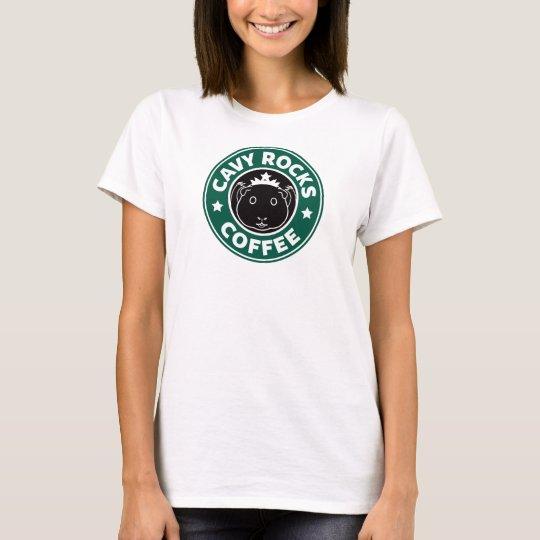 Cavy Rocks Coffee Tee Tシャツ