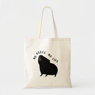 Cavyart No Peegs No Life Tote (Short Haired) トートバッグ