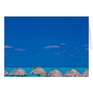 Cayoサンタマリアの別荘クララ、キューバ カード