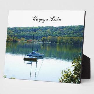 CAYUGA湖のプラク フォトプラーク