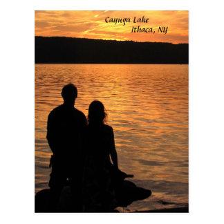 Cayuga湖の恋人 ポストカード