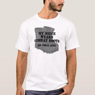 CB空軍叔母さんの姪 Tシャツ
