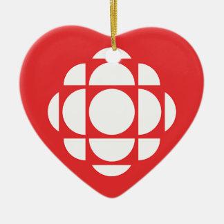 CBC/Radioカナダの宝石 セラミックオーナメント