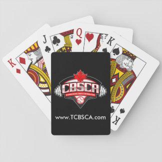 CBSCAのトランプ、標準的な索引の顔 トランプ