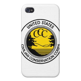 CCCの一般市民の保存隊の捧げ物 iPhone 4/4Sケース