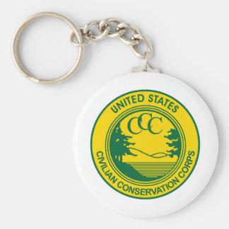 CCCの記念する一般市民の保存隊 キーホルダー