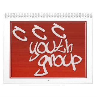 CCCの青年部のカレンダー カレンダー