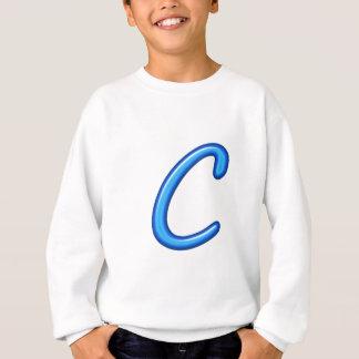 CCC C CCのアルファアルファベットの宝石のギフト スウェットシャツ