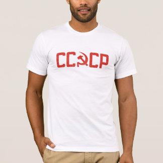 CCCPのソビエトロシアのなスタイルのTシャツ Tシャツ