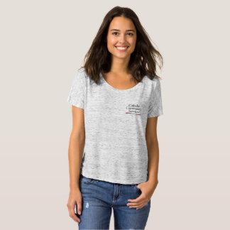 CCSの女性のだらしないボーイフレンドのティー Tシャツ