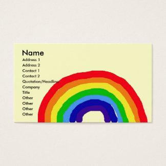 CD虹の芸術の名刺 名刺