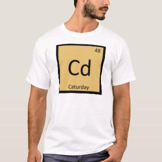 CD - Caturdayのミーム猫化学周期表 Tシャツ