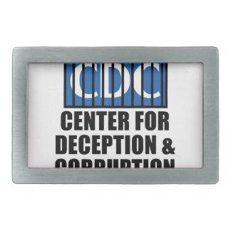 CDCの告発者の真実アンチワクチンSIDS VAXXED 長方形ベルトバックル