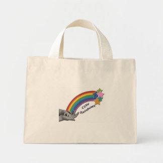 CDHの虹の花のバッグ ミニトートバッグ