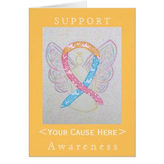 CDHの認識度のリボンの天使によってカスタマイズカード カード