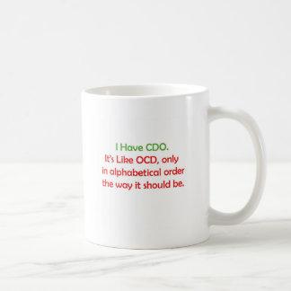 CDO コーヒーマグカップ