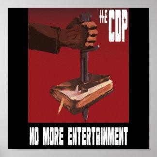 CDPのプロパガンダポスター ポスター