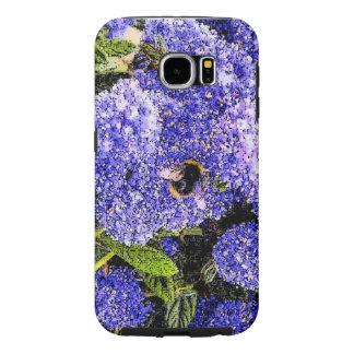 Ceanothusの花の蜂の写真 Samsung Galaxy S6 ケース