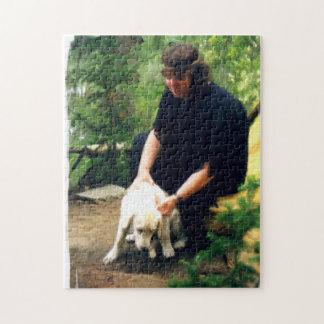 Ceboおよび彼女の犬 ジグソーパズル