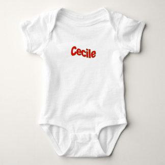 Cecileの服装 ベビーボディスーツ