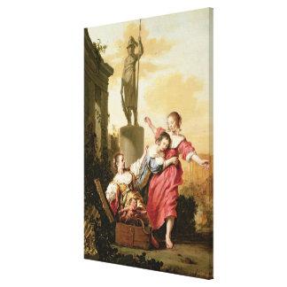 Cecropsの3人の娘 キャンバスプリント