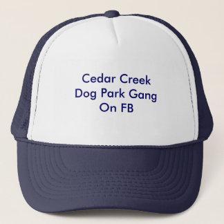 Cedar Creek犬公園GangOn FB キャップ