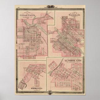 Cedar Falls 2の計画 ポスター
