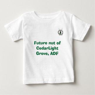 CedarLight果樹園、ADFの未来のナット ベビーTシャツ