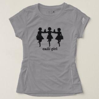 Ceiliの女の子のワイシャツ Tシャツ