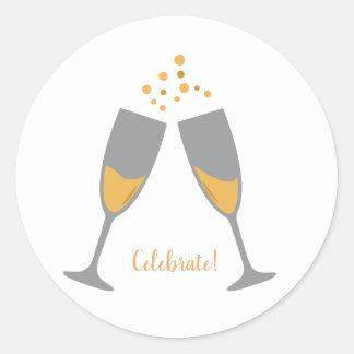 Celebration Sticker ラウンドシール