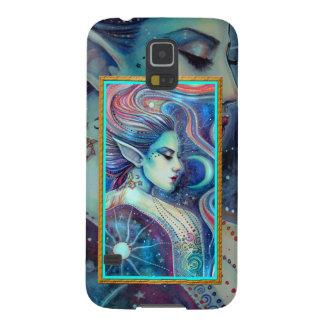 CelestaのFaeryの天妖精のファンタジーの芸術 Galaxy S5 ケース