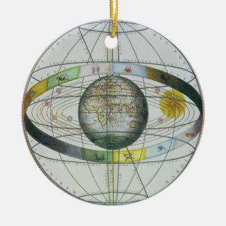 「Celestiからのキリスト教の星座の地図、 セラミックオーナメント