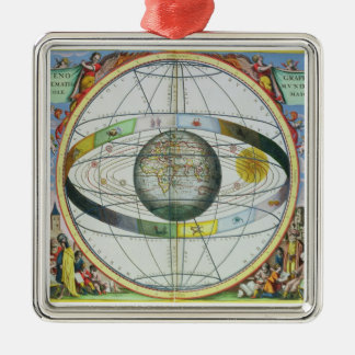 「Celestiからのキリスト教の星座の地図、 メタルオーナメント
