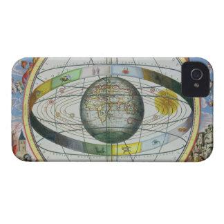 「Celestiからのキリスト教の星座の地図、 Case-Mate iPhone 4 ケース