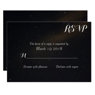 Celestial Dreams RSVP カード